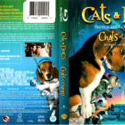 CATS AND DOGS (2001) R1 BLU-RAY COVER & LABEL