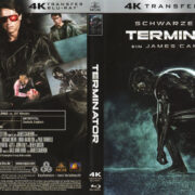 Terminator (1984) R2 German 4K Remastered Cover & Label