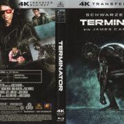Terminator (1984) R2 German 4K Remastered Cover & Label