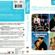 TURNER GREATEST CLASSIC FILMS (2009) R1 DVD COVER & LABELS