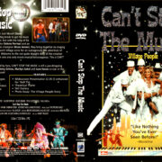 CAN'T STOP THE MUSIC (1980) R1 DVD COVER & LABEL