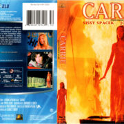 CARRIE (1976) R1 BLU-RAY COVER & LABEL