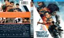 Triple Threat (2018) R1 Blu-Ray Cover