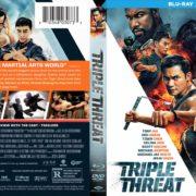 Triple Threat (2018) R1 Blu-Ray Cover