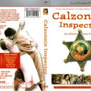 CALZONZIN INSPECTOR (1973) R1 DVD COVER & LABEL