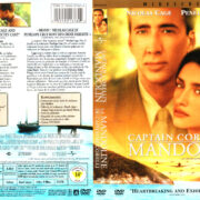 CAPTAIN CORELLI'S MANDOLIN (2001) R1 DVD COVERS & LABEL