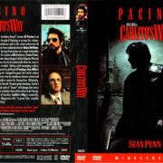 CARLITO'S WAY (1993) R1 DVD COVER & LABEL