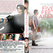 Five Feet Apart (2019) R1 Custom DVD Cover