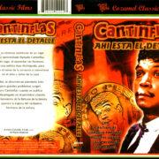 CANTINFLAS AHI ESTA EL DETALLE (1943) SPANISH DVD COVER & LABEL
