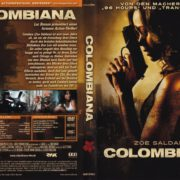 Colombiana (2012) R2 German DVD Cover