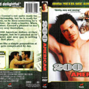 200 AMERICAN (2004) R1 DVD COVER & LABEL