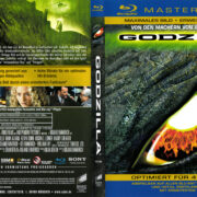 Godzilla (1998) R2 German 4K Remastered Cover & Label