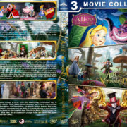 Alice in Wonderland Triple Feature R1 Custom DVD Cover