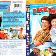 BACK TO THE BEACH (1987) R1 DVD COVER & LABEL