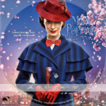 Mary Poppins Returns (2018) R1 Custom DVD Label