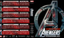 Avengers Assembled - Phase Two R1 Custom Blu-Ray Cover