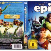 Epic - Verborgenes Königreich (2013) R2 German DVD Cover