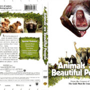 ANIMALS ARE BEAUTIFUL PEOPLE (1974) R1 DVD COVER & LABEL