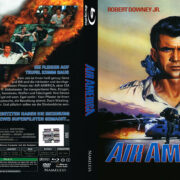 Air America (1990) R2 German Custom Blu-Ray Covers & Label