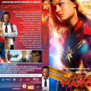 Captain Marvel (2019) R1 Custom DVD Covers