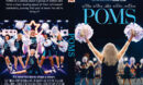 Poms (2019) R0 Custom DVD Cover & Label