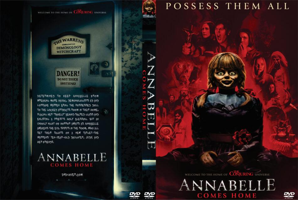 Annabelle Comes Home 2019 R0 Custom Dvd Cover Dvdcovercom