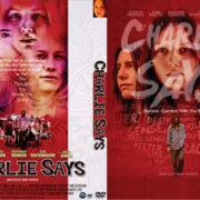 Charlie Says (2018) R0 Custom DVD Cover