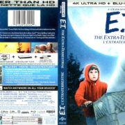 E.T. THE EXTRA-TERRESTRIAL (1982) R1 UHD 4K COVER & LABELS