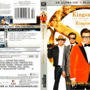 KINGSMAN THE GOLDEN CIRCLE (2017) R1 UHD 4K COVER & LABELS