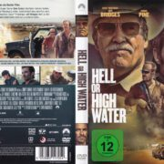 Hell Or High Water (2016) R2 German DVD Cover