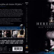 Hereditary (2018) R2 german Blu-Ray Cover