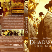 Deadwood: The Movie (2019) R1 Custom DVD Cover
