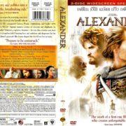 ALEXANDER (2004) R1 SE DVD COVER & LABELS