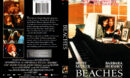 BEACHES (1988) R1 DVD COVER & LABEL