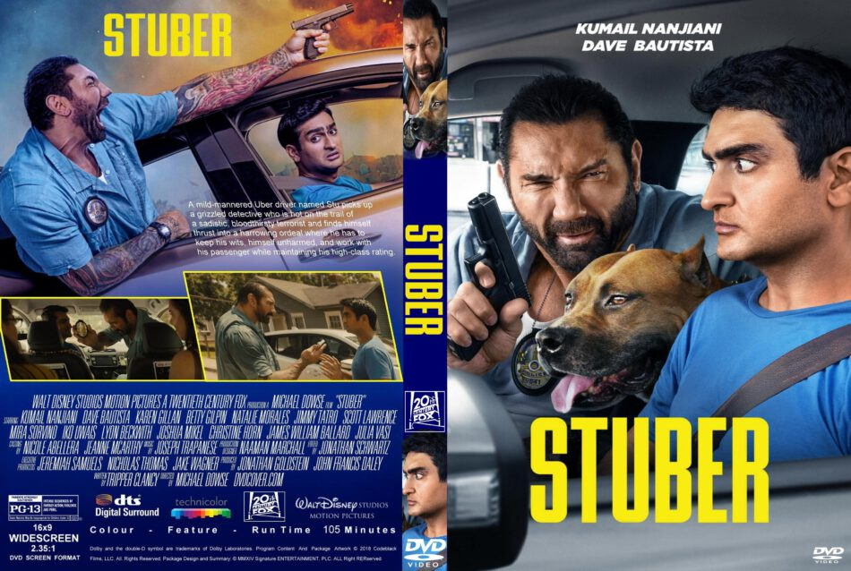 Stuber (2019) R1 Custom DVD Cover - DVDcover Com