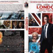 London Has Fallen (2016) R2 German DVD Cover
