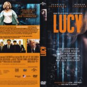 Lucy (2014) R2 German DVD Cover