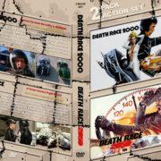 Death Race 2000 / Death Race 2050 Double Feature R1 Custom DVD Cover