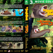 The Jungle Book Triple Feature R1 Custom DVD Cover