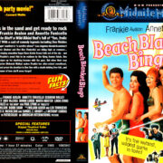 BEACH BLANKET BINGO (1965) R1 DVD COVER & LABEL