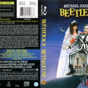 BEETLEJUICE (1988) R1 BLU-RAY COVER & LABEL