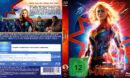 Marvel's Captain Marvel (2018) R2 German Custom Blu-Ray Covers & Label