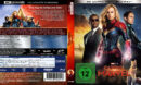 Marvel's Captain Marvel (2018) R2 German Custom 4K Covers & labels