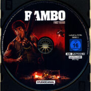 Rambo (1982) R2 German 4K UHD Blu-Ray Labels
