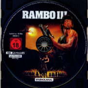 Rambo 3 (1988) R2 German 4K UHD Blu-Ray Labels
