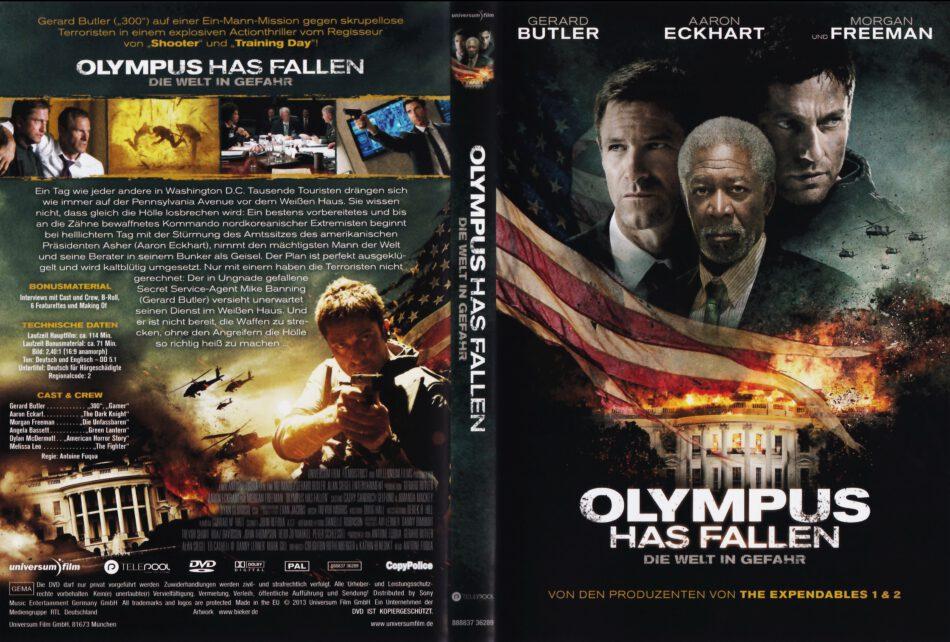 Olympus Has Fallen 2013 R2 German Dvd Cover Dvdcover Com
