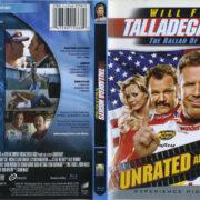 Talladega Nights (2006) R1 Blu-Ray Cover & Label