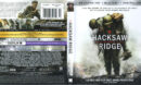 Hacksaw Ridge (2016) R1 4K UHD Blu-Ray Cover & Labels