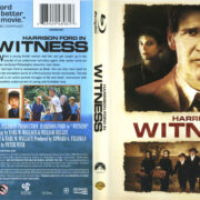 Witness (1985) R1 Blu-Ray Cover & Label