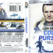 Cold Pursuit (2019) R1 4K UHD Blu-Ray Cover & Labels